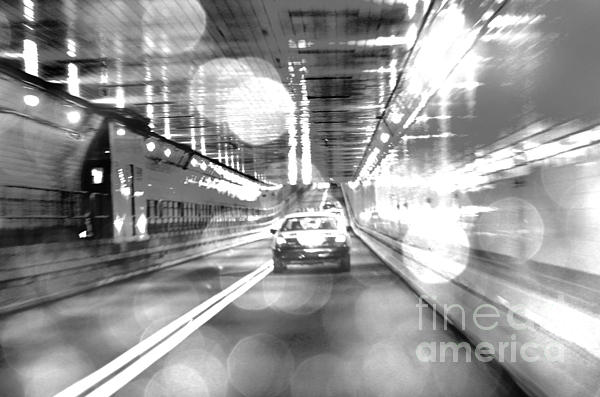 Nyc Lights And Movements Print by Anahi DeCanio
