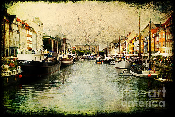 Nyhavn Print by Joan McCool