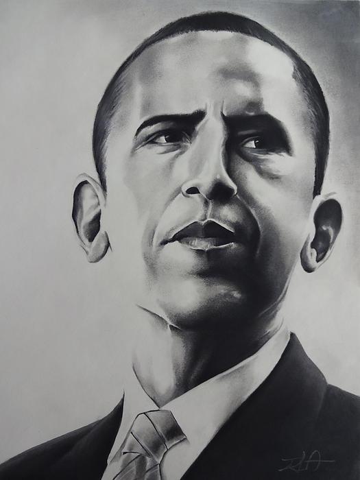 Obama Print by Idorenyin Sam Awak