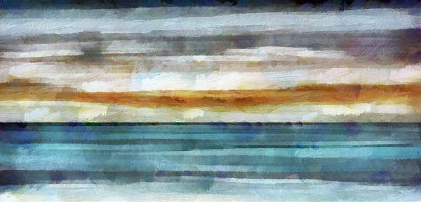 Ocean 1 Print by Angelina Vick