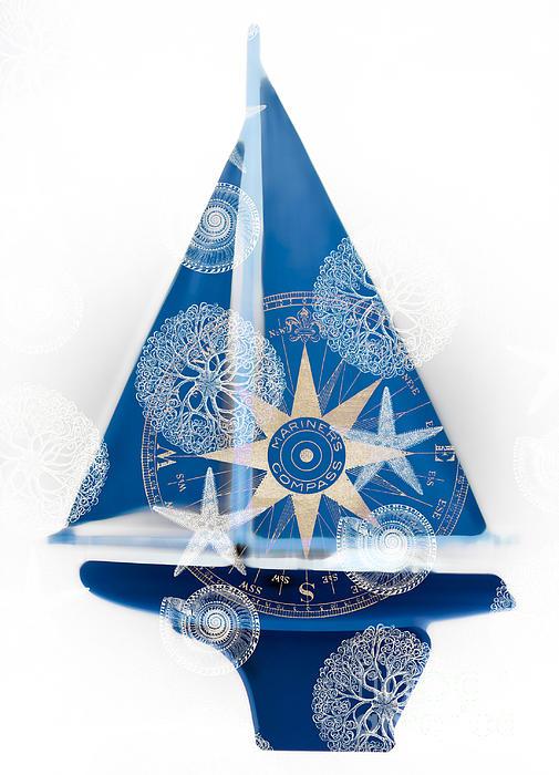 Ocean Blue Print by Frank Tschakert