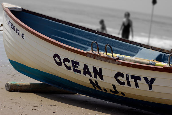 Tom Gari Gallery-Three-Photography - Ocean City NJ Iconic Life Boat