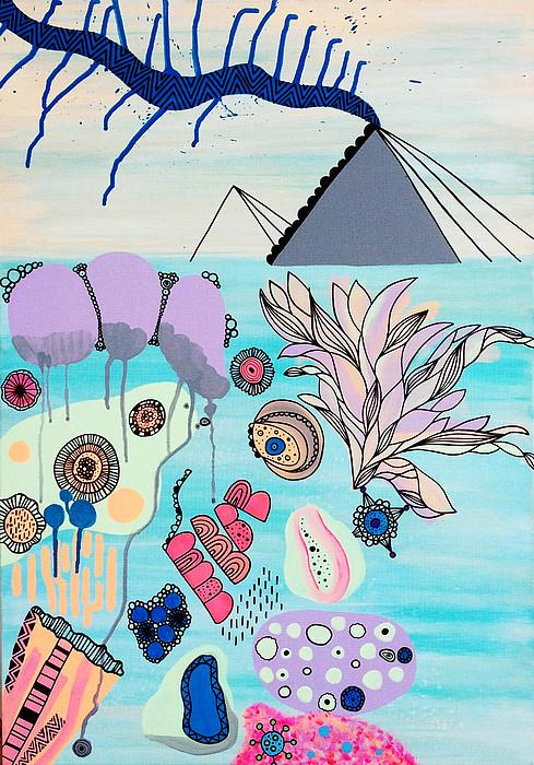Ocean Parade Print by Susan Claire