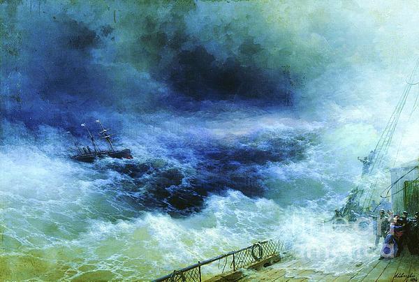 Ocean Print by Pg Reproductions