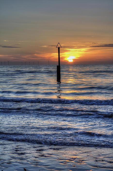 Ocean Sunset Print by Ian Mitchell