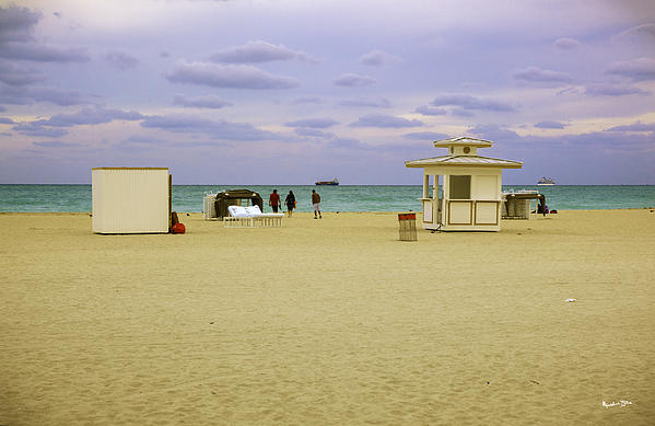Ocean View 3 - Miami Beach - Florida Print by Madeline Ellis