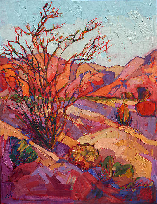 Erin Hanson - Ocotillo Shadows