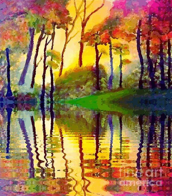 Holly Martinson - October Sunrise