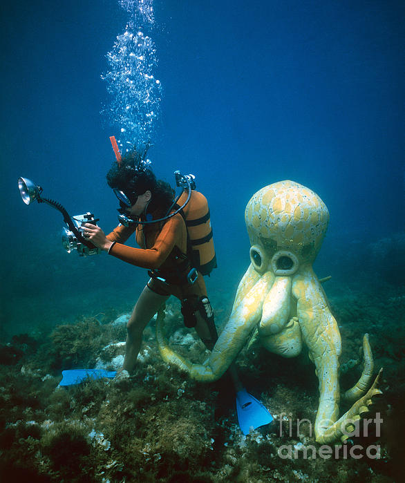 Octopus Attacking Human Octopus Attack by Dere...