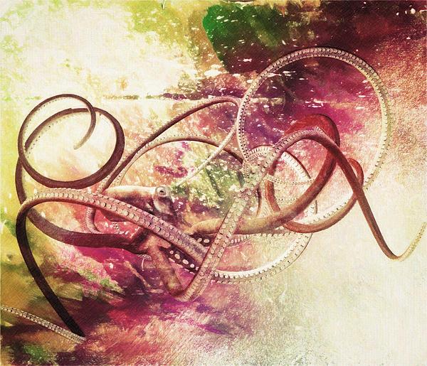 Octopus Print by Taylan Soyturk