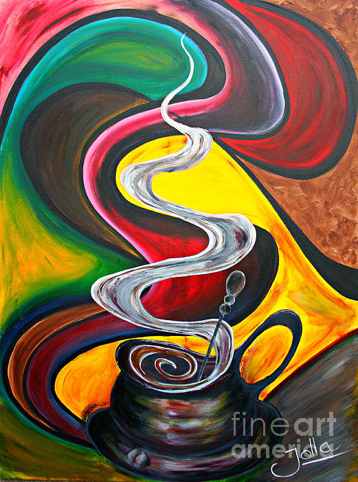Jolanta Anna Karolska - Ode to Coffee...
