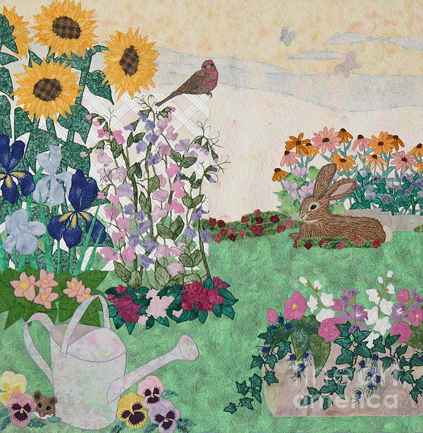 Ode To Henry And Joys Of Nature Print by Denise Hoag