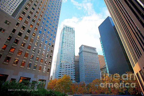 Office Space For Rent In Downtown San Francisco Print by Artist and Photographer Laura Wrede