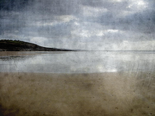 Ogmore Beach Print by Kevin Round