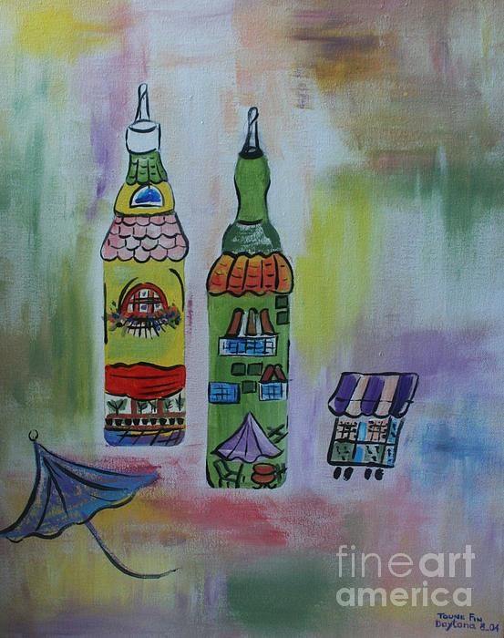 Oil And Vinegar Print by PainterArtist FIN