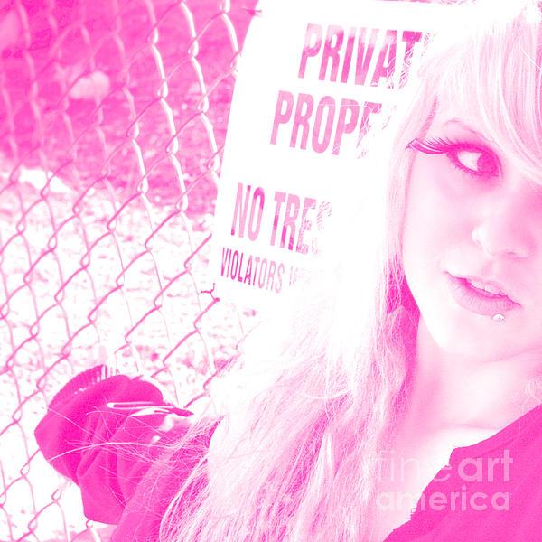 Ok Yeah No Trespassing Sure Print by Kyle Walker
