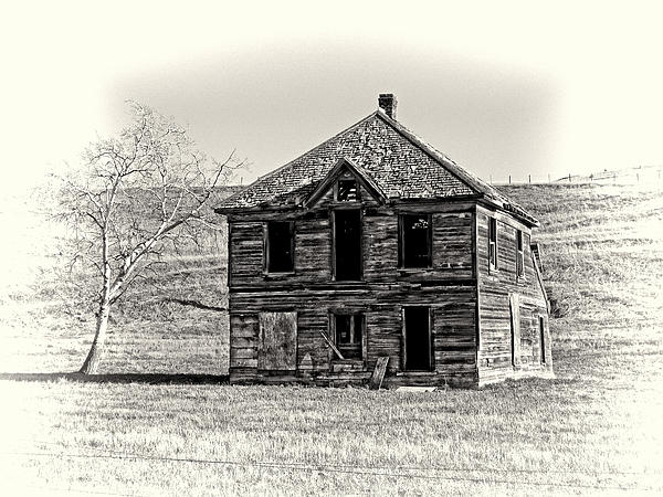 Okanogan Homestead - Washington Print by Daniel Hagerman