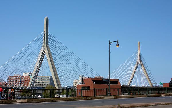 Old And New Boston Print by Kristin Elmquist
