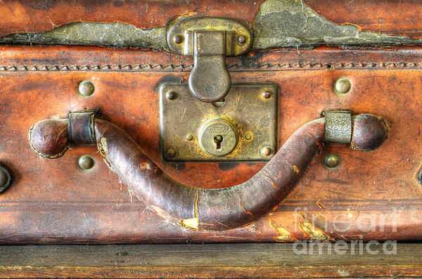 Old Baggage Print by Bob Christopher