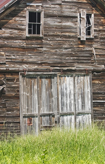 Old Barn In Maine Print by Keith Webber Jr