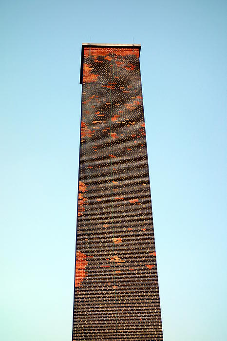 Old Brick Stack Print by Valentino Visentini