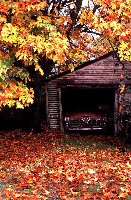 Old Car Print by Joe Klune
