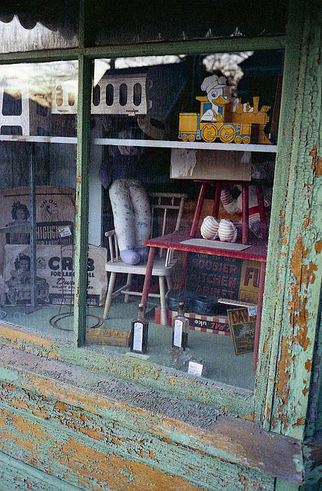 Old Country Store Display In Virginia Print by Thomas D McManus