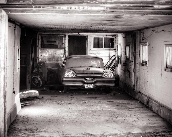 Steve G Bisig - Old Dodge Car in Garage