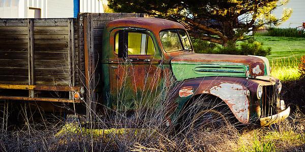 Steve G Bisig - Old Ford Flatbed