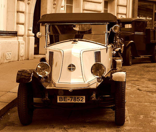 Riad Belhimer - Old  French Car