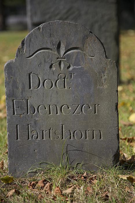 Old Headstone Print by Allan Morrison