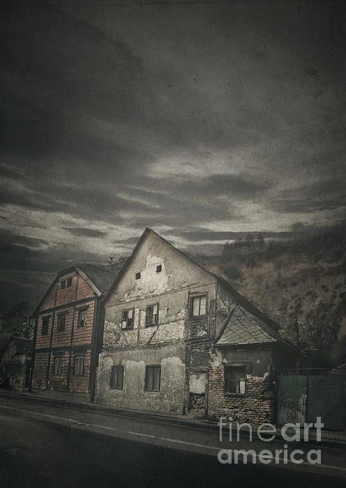 Old House Print by Jelena Jovanovic