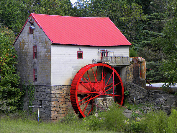 Old Mill Of Guilford Print by Sandi OReilly