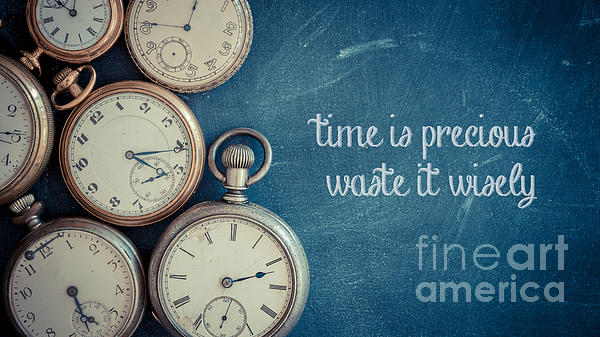 Edward Fielding - Time Is Precious Waste It Wisely