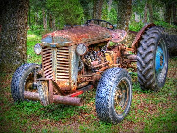 Myrna Bradshaw - Old Rusty Ferguson Tractor