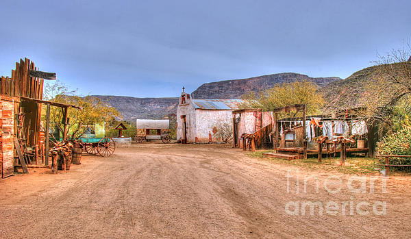 Marcia Fontes Photography - Old West - Arizona Town