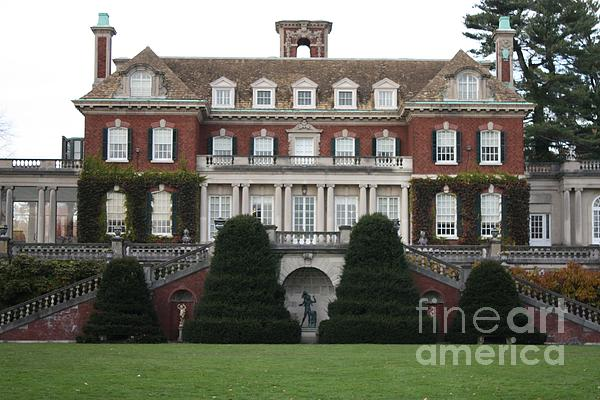 Old Westbury Gardens Rear Entrance Print by John Telfer