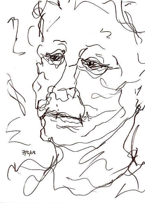Old Woman Print by Rachel Scott