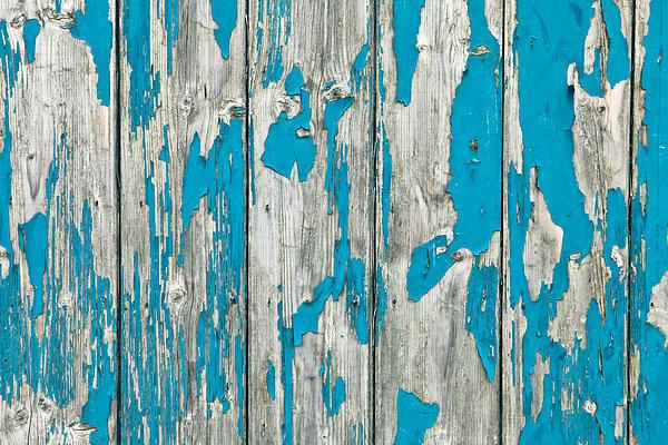 Old Wood Print by Tom Gowanlock