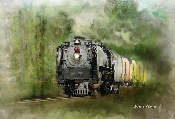 Angela A Stanton - Old World Steam Engine
