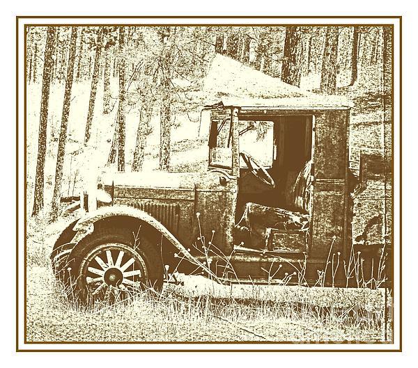 Olde Workhorse Print by Barbara Henry