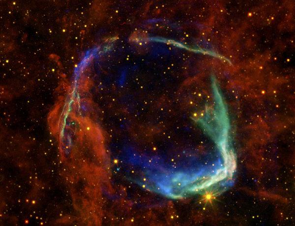 Oldest Recorded Supernova Print by Adam Romanowicz