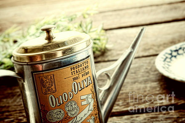 Olio D'oliva  Print by Olivier Le Queinec