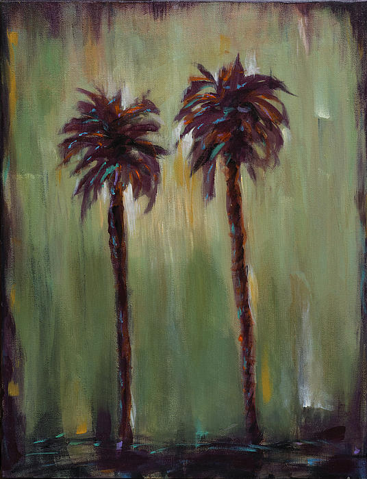 Olive Sky Print by Linda Olsen