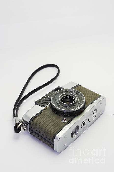 Olympus Pen-film Camera Print by Tuimages