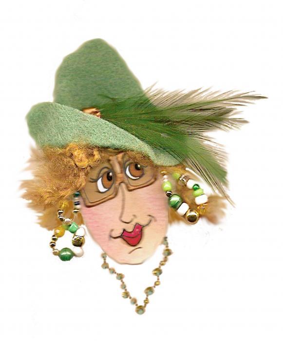 Nan Wright - OMG Red Headed Whimsical Lady