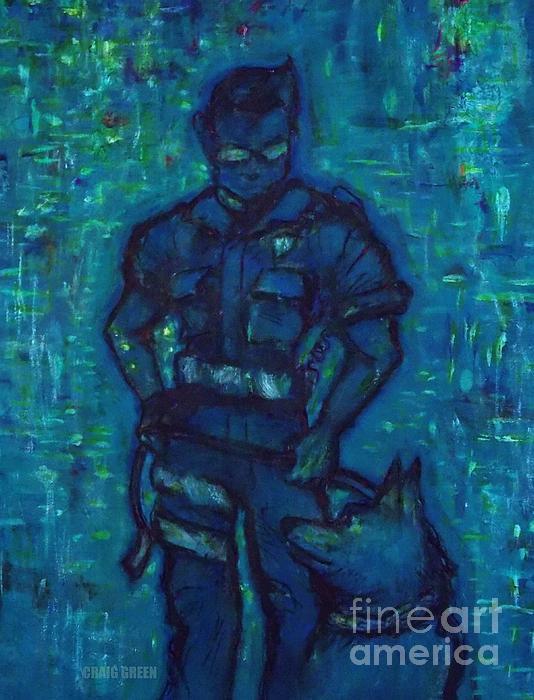 On Command I I Print by Craig Green