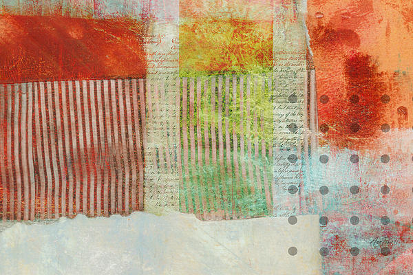 Once Again Abstract Art Print by Ann Powell