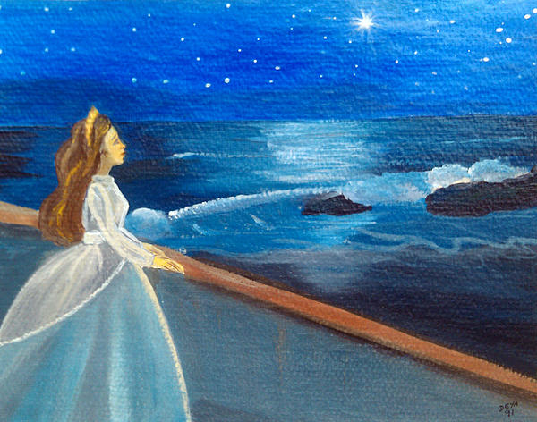 Deyanira Harris - One afternoon she saw a star