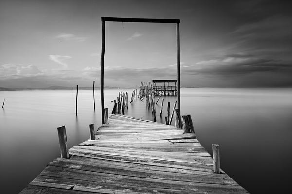 One Way Print by Jorge Maia
